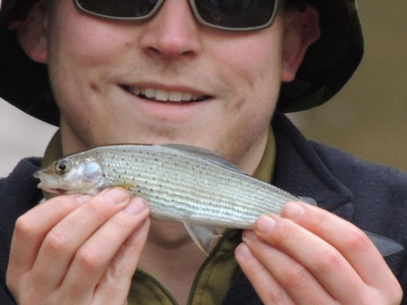 Greg Winstanley First Grayling River Dane Saltersford