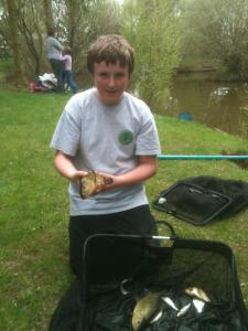 Alex Warham 2lb 4oz was good enough for 5th