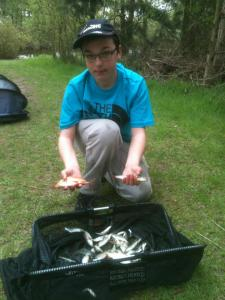 Connor Higham caught 2lb 2oz of small fish