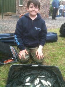 Jack Ross also with a new pole had 1lb 2oz.