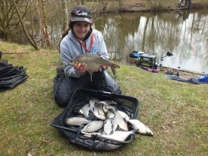 Sarah Taylor's catch of Skimmers. 18lb 3oz