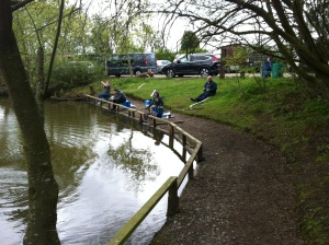 Morning Academy sessions, plenty of fish being caught.