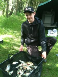 Kyle Hickman's 7lb of mixed silver fish