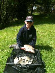 Callum McCormack  winning weight on 11lb of some nice sized skimmers