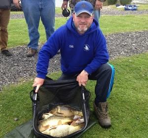 Carl McCormack's 17lb 6oz mainly method feeder caught fish.