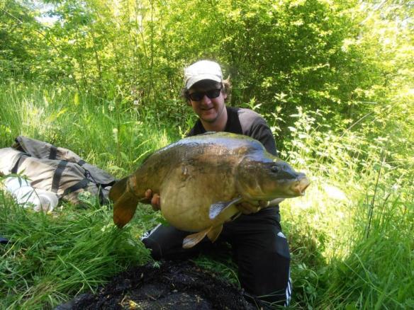 Ian Futcher 25lb 4oz Mirror Carp Chester Specimen Lake II