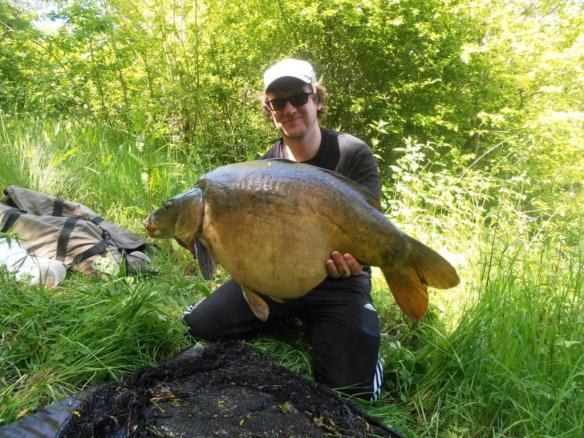 Ian Futcher 25lb 4oz Mirror Carp Chester Specimen Lake