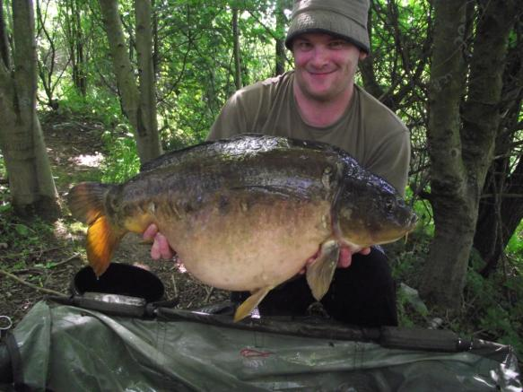 William Tabern 31lb Mirror Carp Chester Specimen Lake