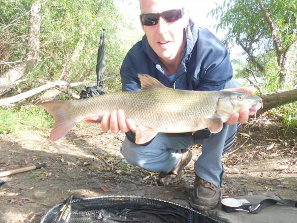 Robert Kenyon 3lb 12oz Barbel River Severn Atcham