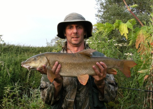 Shaun Roffey 8lb 12oz Barbel II River Bollin