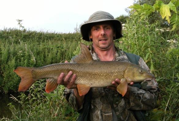 Shaun Roffey 8lb 12oz Barbel River Bollin