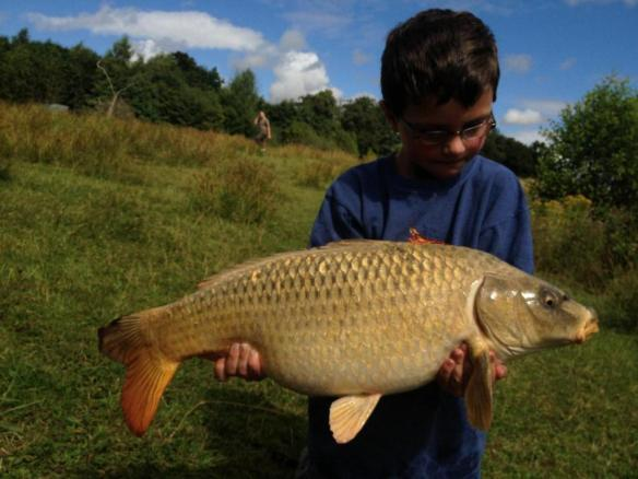 Ben Whewell 10lb Ghost Carp Yew Tree Pool