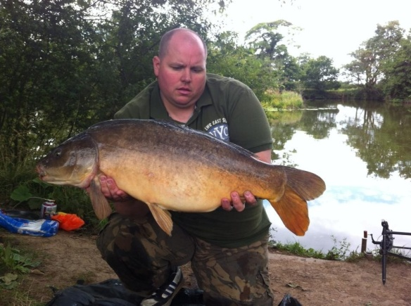 Kevin Hollick 19lb 14oz Heather the Leather Carp