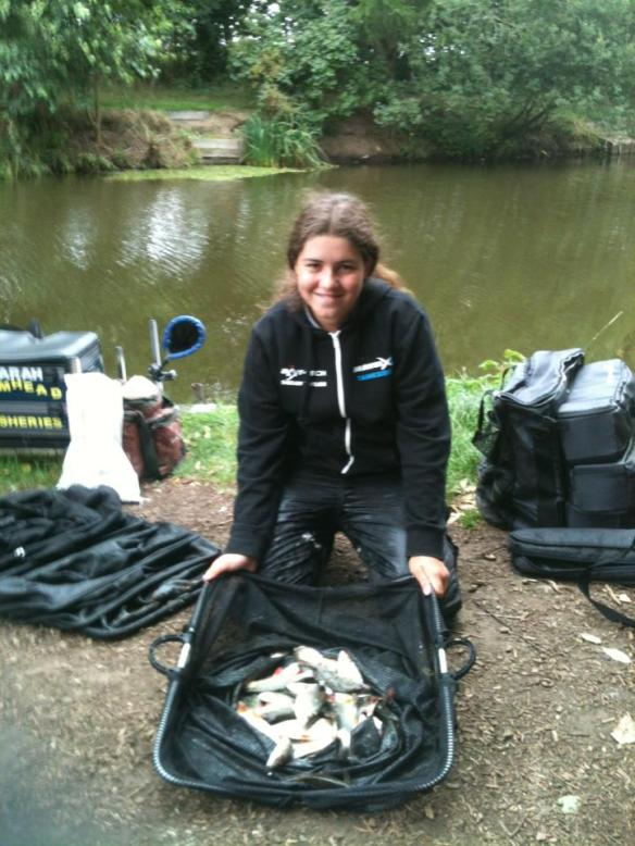 Sarah Taylor match winning catch of 5lb 6oz