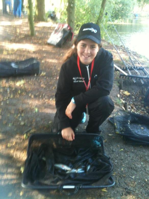 Sarah Taylor had 11oz of Roach and Perch to say in the series lead.