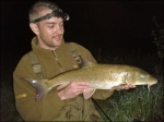 Ash with his barbel.
