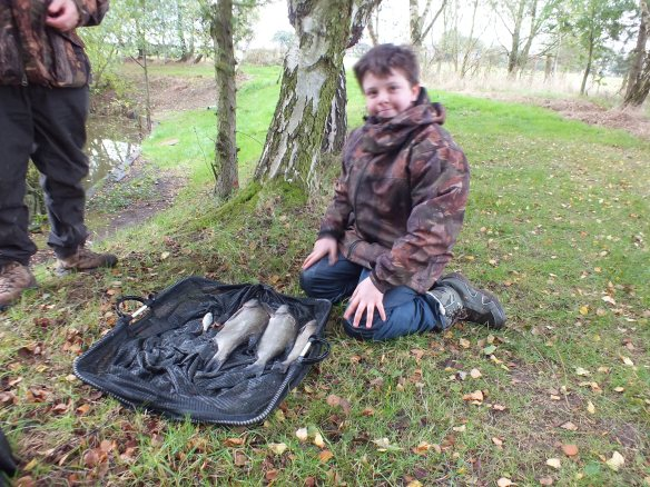 Jack Ross with his method feeder caught skimmers of 3lb 15oz