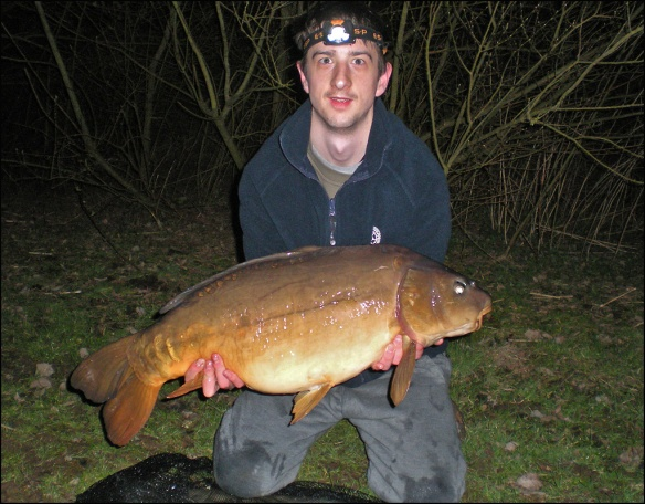Oliver's new personal best of 23lb 70z!