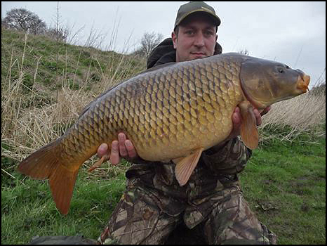 A great way to start the week - 25lb 20z of immaculate common carp!