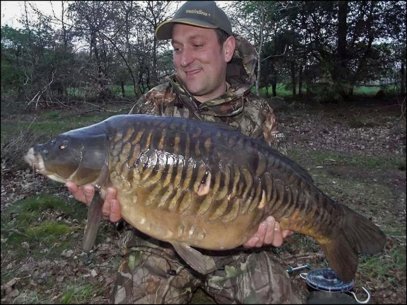 Justin's Lymmvale 28lb 2oz near fully scaled beauty!