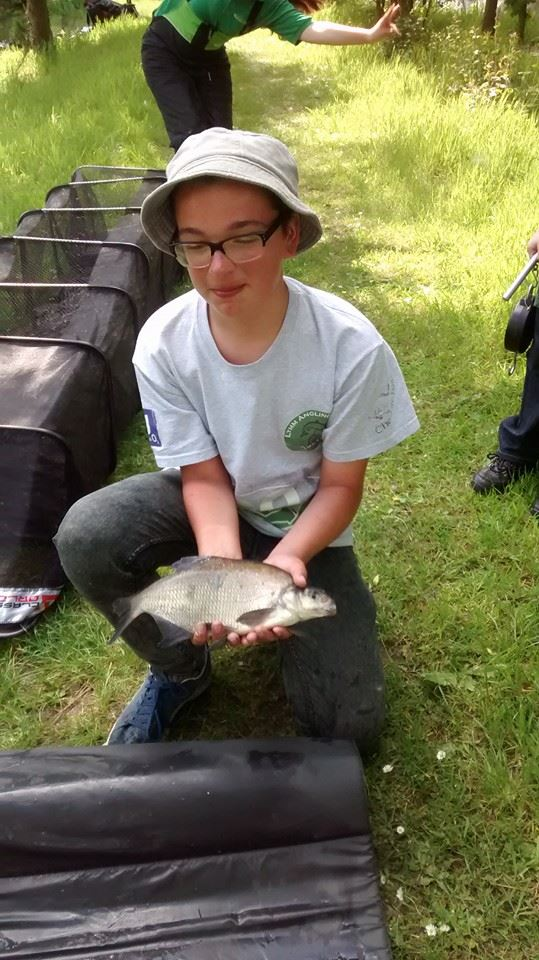 Connor Higham one fish was 2lb 5oz good enough for 4th place.