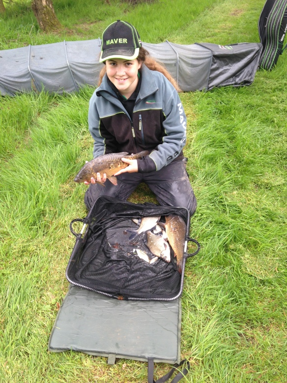 Sarah Taylor winning catch of 9lb 3oz