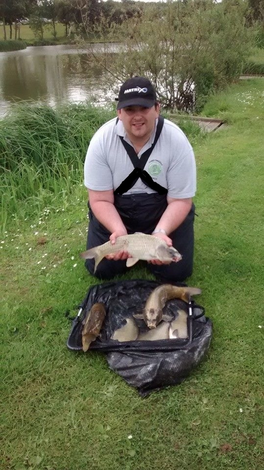 Chris Finneran's catch of 25lb