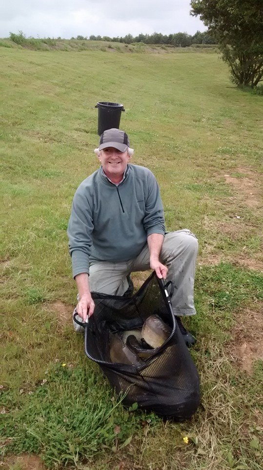 Ian Stansfield with a catch of 37lb 10oz.
