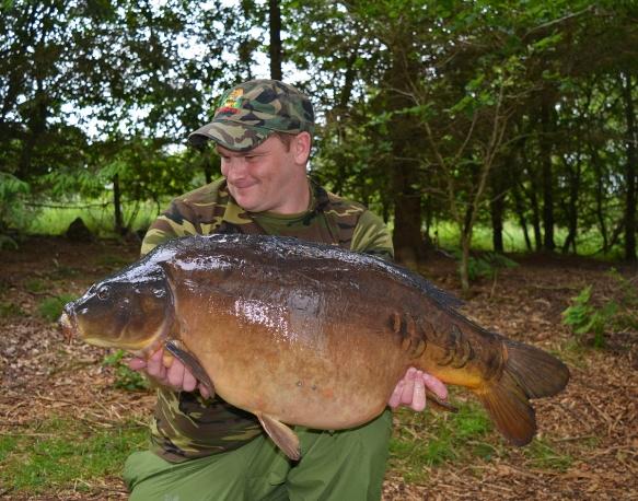 William's stunner of a mirror carp!