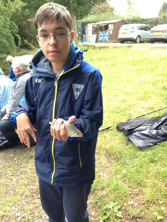 Taylor Hughes with his best fish
