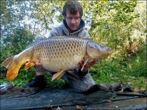 Ian's new PB common of 21lb 12oz…..